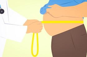 تراكم الدهون في البطن  و مشاكل التنفس