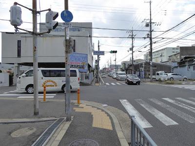 門真運転免許試験場から国の天然記念物・薫蓋樟(三島神社)までの道のり・ルート