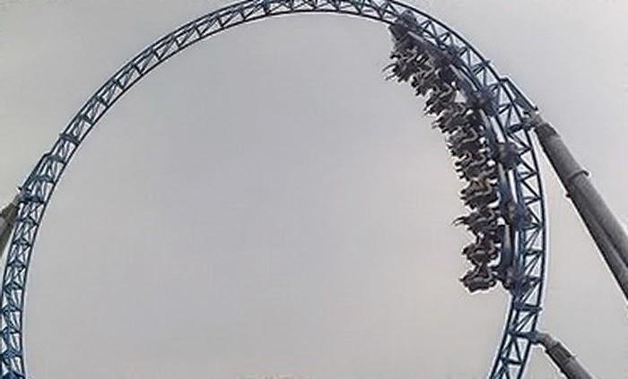 7 Roller Coaster Terekstrim dan Menyeramkan di Dunia