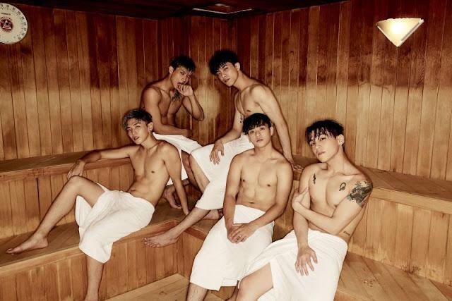 TOP1男子漢推出「我的愛」寫真迷你專輯
