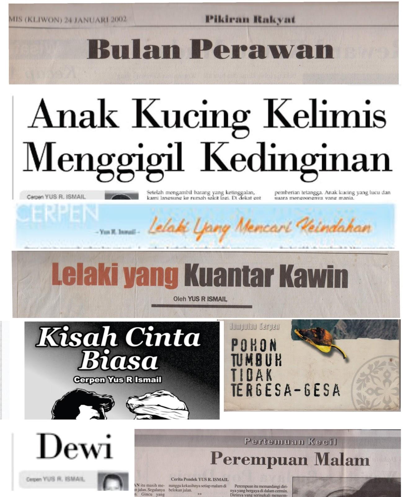 Cerpen Yus R Ismail