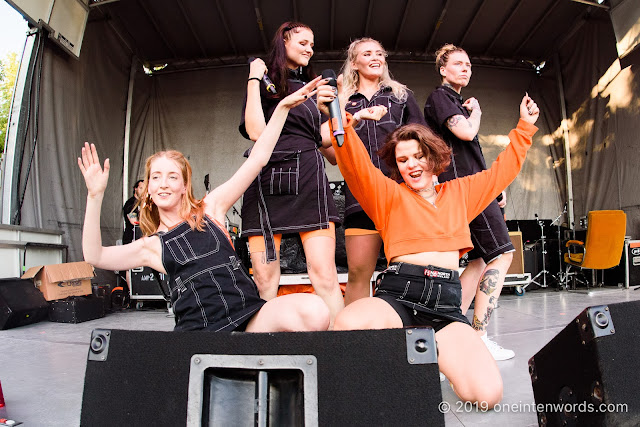 Reykjavíkurdætur (Daughters of Reykjavik) at Riverfest Elora on Saturday, August 17, 2019 Photo by John Ordean at One In Ten Words oneintenwords.com toronto indie alternative live music blog concert photography pictures photos nikon d750 camera yyz photographer summer music festival guelph elora ontario