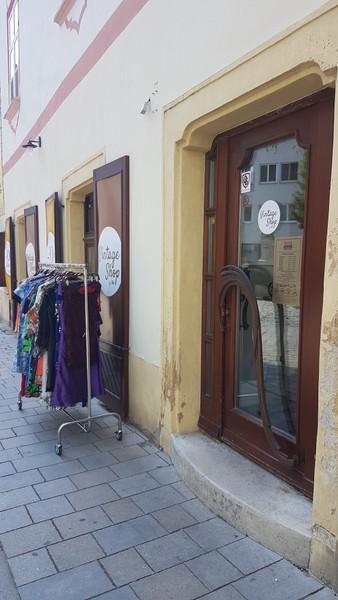 bratislava, travel, vintage store, thrift shop,