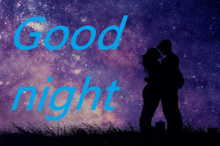 wallpaper of good night kiss