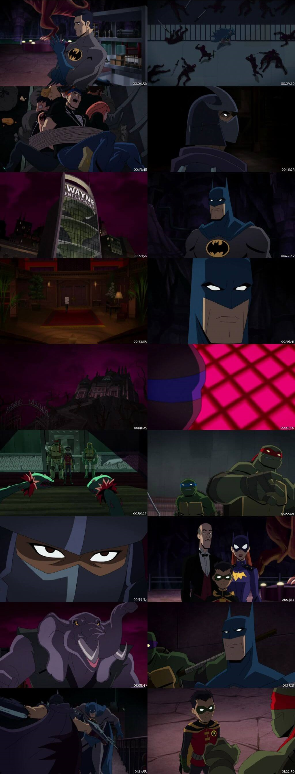 Screen Shot Of Batman vs. Teenage Mutant Ninja Turtles 2019
