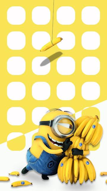 Bộ hình nền Minions đẹp cho điện thoại siêu cute luôn