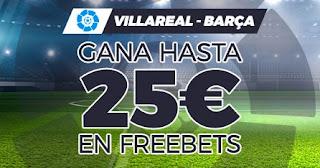 Paston promo Villarreal vs Barcelona 25-4-2021