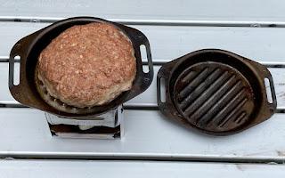 BE-PAL付録 SHO'S肉厚グリルパンでハンバーグを焼く