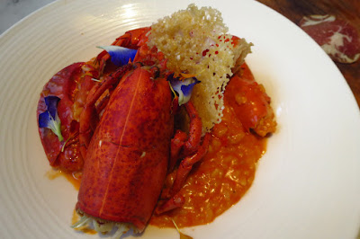 Caffé B, lobster risotto