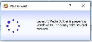 تشغيل برنامج Lazesoft