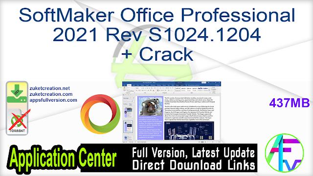 SoftMaker Office Professional 2021 Rev S1024.1204 + Crack