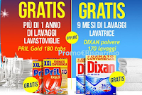 Logo Casa Henkel White Friday : gratis 1 anno di Pril Gold o 9 mesi di Dixan