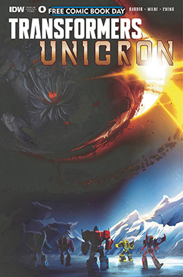 Free Comic Book Day: Transformers Unicron