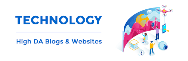 Technology - High Domain Authority Blog and Website