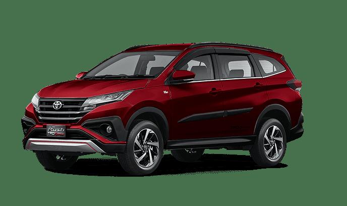 Toyota Rush Red Mica Metallic