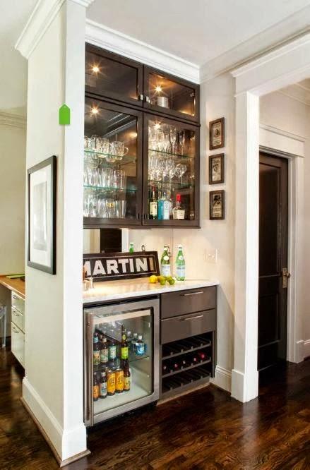 ideas decoracion bares para departamentos pequeos