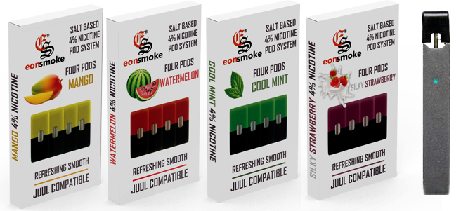Earn Higher with JUUL Compatible Eon Pods as Wholesaler and