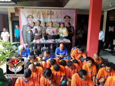 Polres Bangkalan Madura Merilis Hasil Ungkap 2 Pekan  Kasus Narkoba