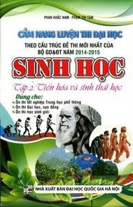 Cẩm Nang Luyện Thi THPT Quốc Gia Sinh Học Tập 2: Tiến Hóa Và Sinh Thái Học - Phan Khắc Nam