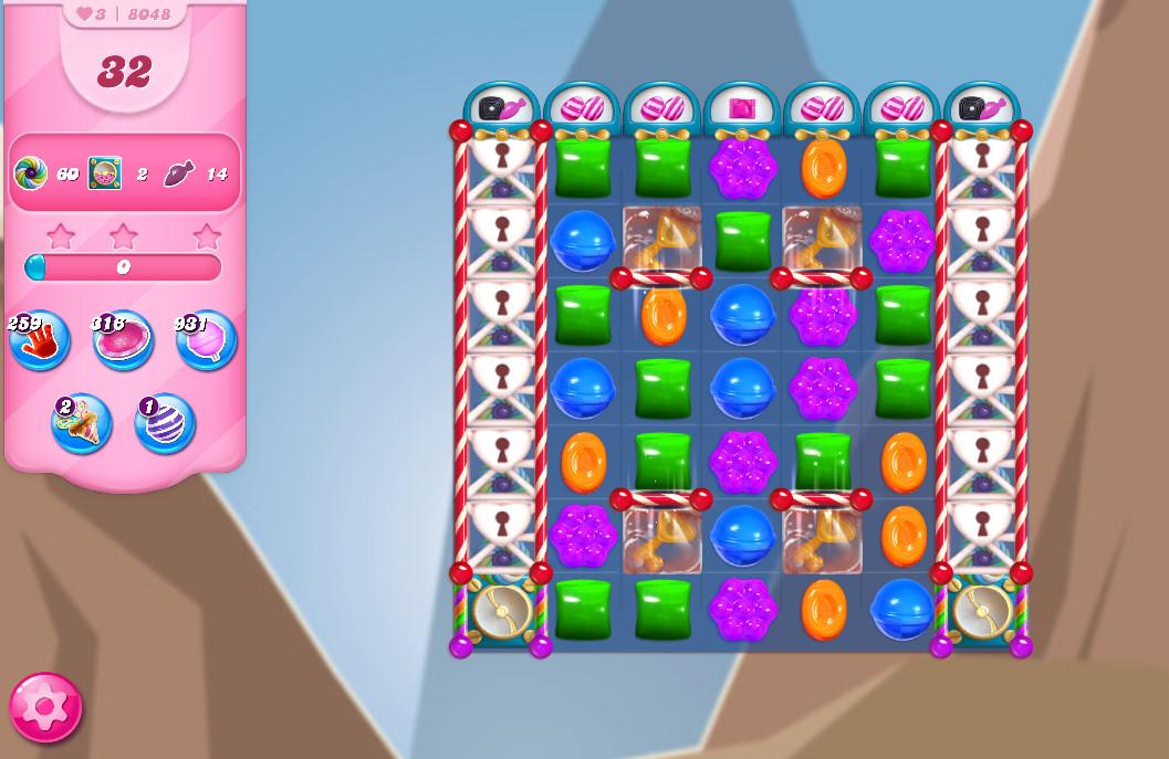 Candy Crush Saga level 8048