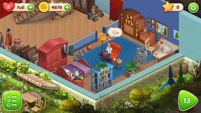 Gameplay Homescapes