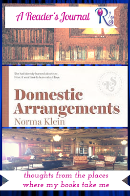 A Reader's Journal: DOMESTIC ARRANGEMENTS Norma Klein classic YA The 3 Rs Blog