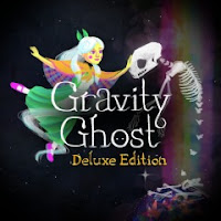 Gravity Ghost Deluxe Edition Game Logo