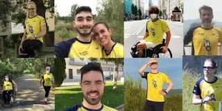 La Carrera Liberty virtual reúne a 3.000 participantes y recauda más de 6.333 euros para el Equipo de Jóvenes Promesas Paralímpicas de Atletismo. Foto: CPE