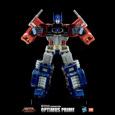 Mega Action Optimus Prime presentato dalla Toys Alliance