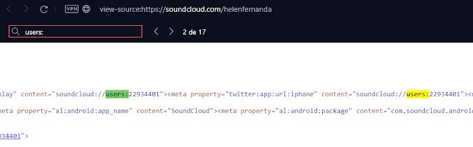 Número do Soundcloud