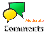 Enable Comment Moderation on Blogger