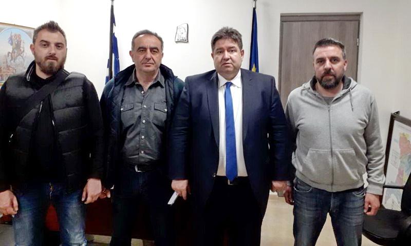 Συνάντηση αστυνομικών της Ορεστιάδας με τον Αρχηγό της ΕΛ.ΑΣ. Αντιστράτηγο Μιχαήλ Καραμαλάκη