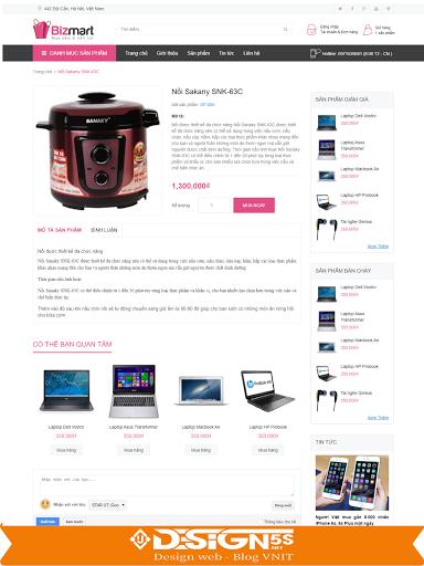Free Downloand Bizmart Business Blogger Template - Ảnh 2