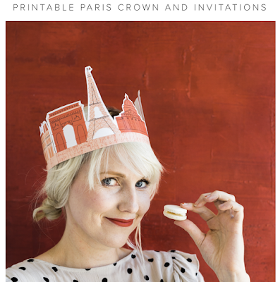 Bastille Day for Kids Printable Paris Crown