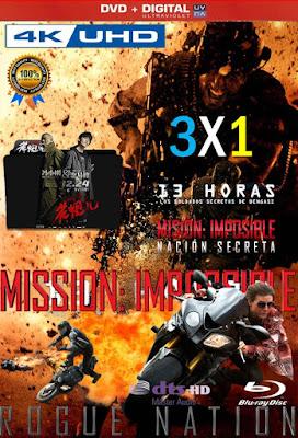 Misiones Peligrosas 3X1 COMBO HD DVD LATINO