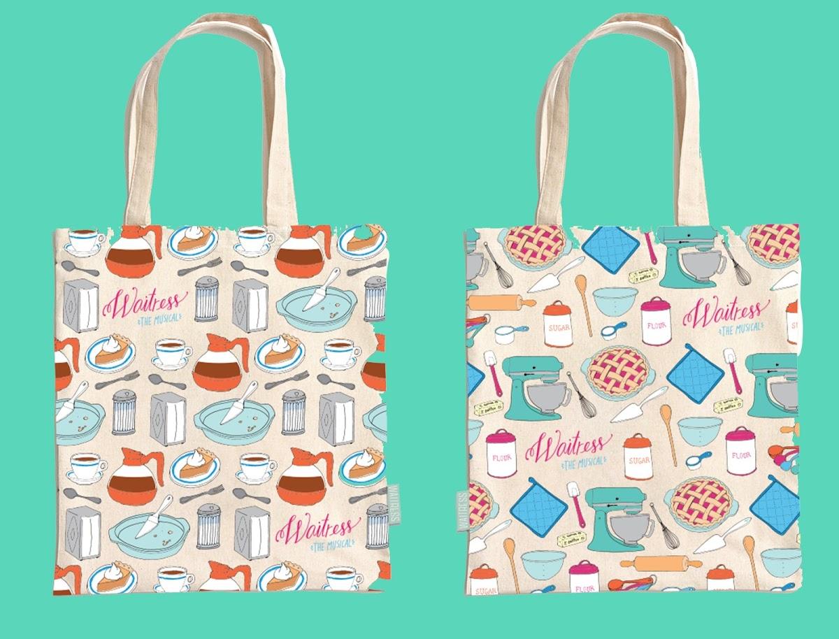 Waitress tote bags