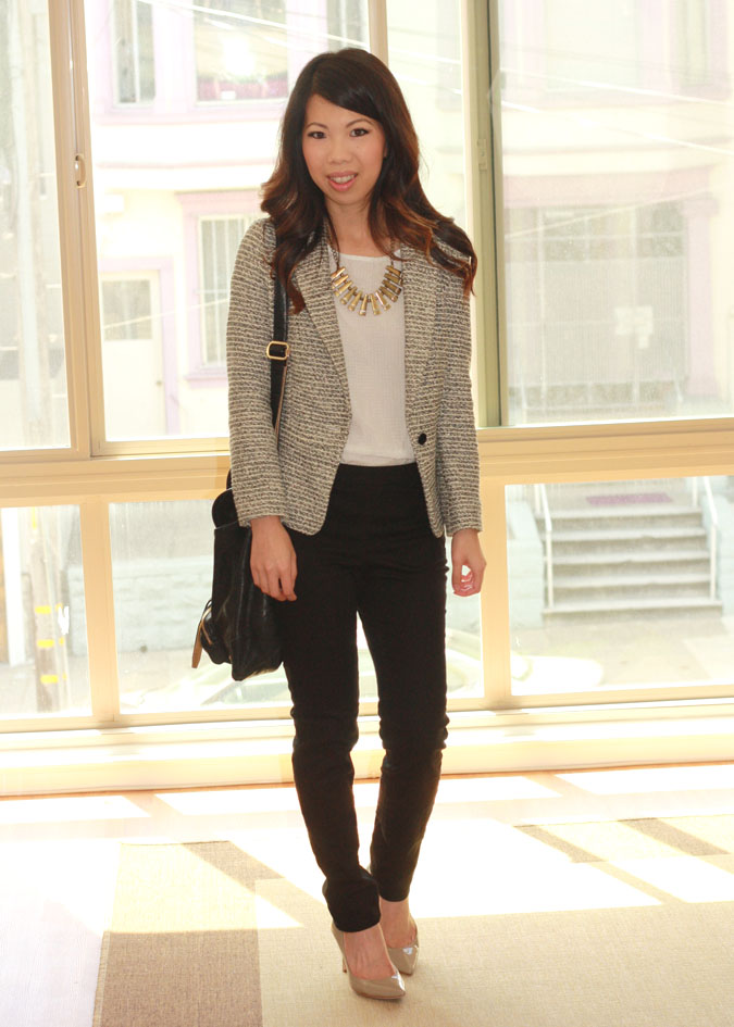 All About Fashion Stuff: Business Casual and $12 H&M Pants