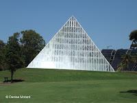 'Floating' Tropical Centre Glasshouse - Royal Botanic Gardens, Sydney, Australia
