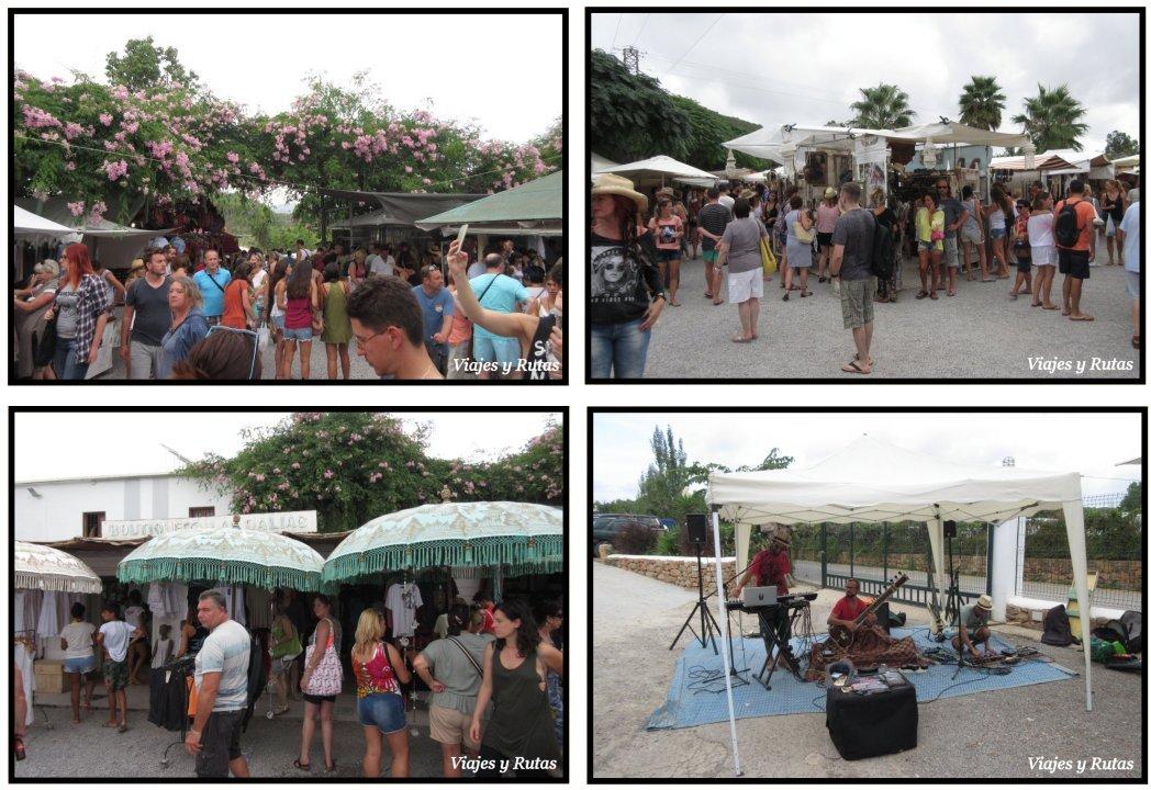 Mercado de Las dalias de san Carlos, Ibiza