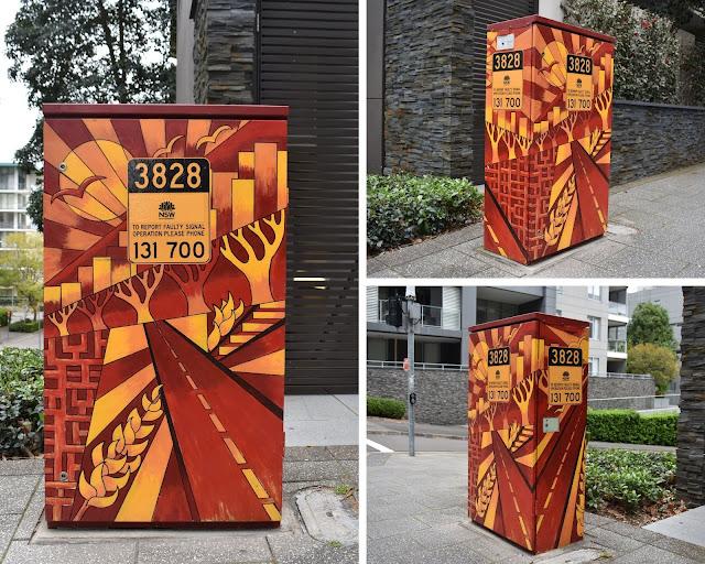 Rhodes Signal box Art | Matt McLarty