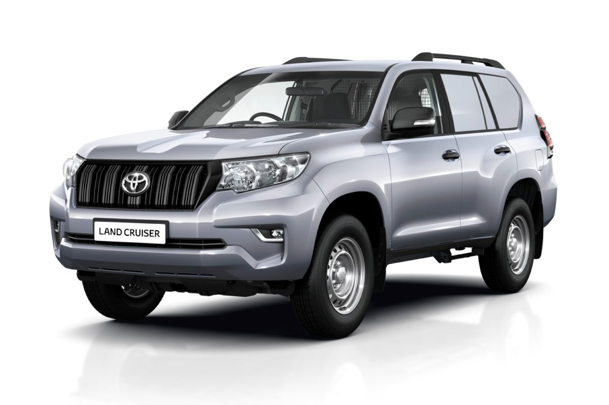 the toyota land cruiser prado can also do deliveries. Black Bedroom Furniture Sets. Home Design Ideas