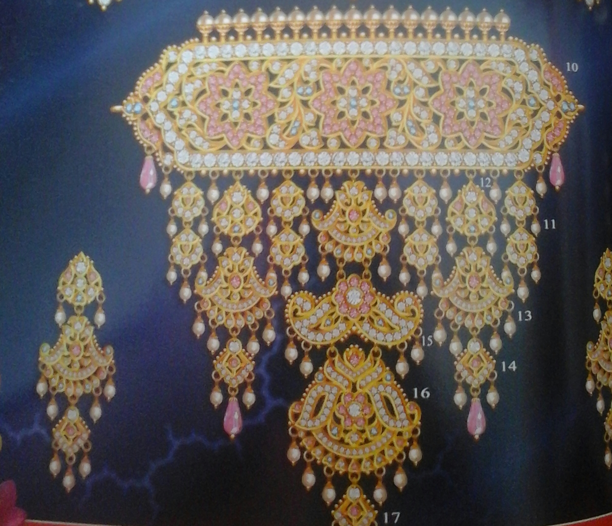 Rajputi jewellery AAD (Necklace) 2016 | Culture of Rajasthan