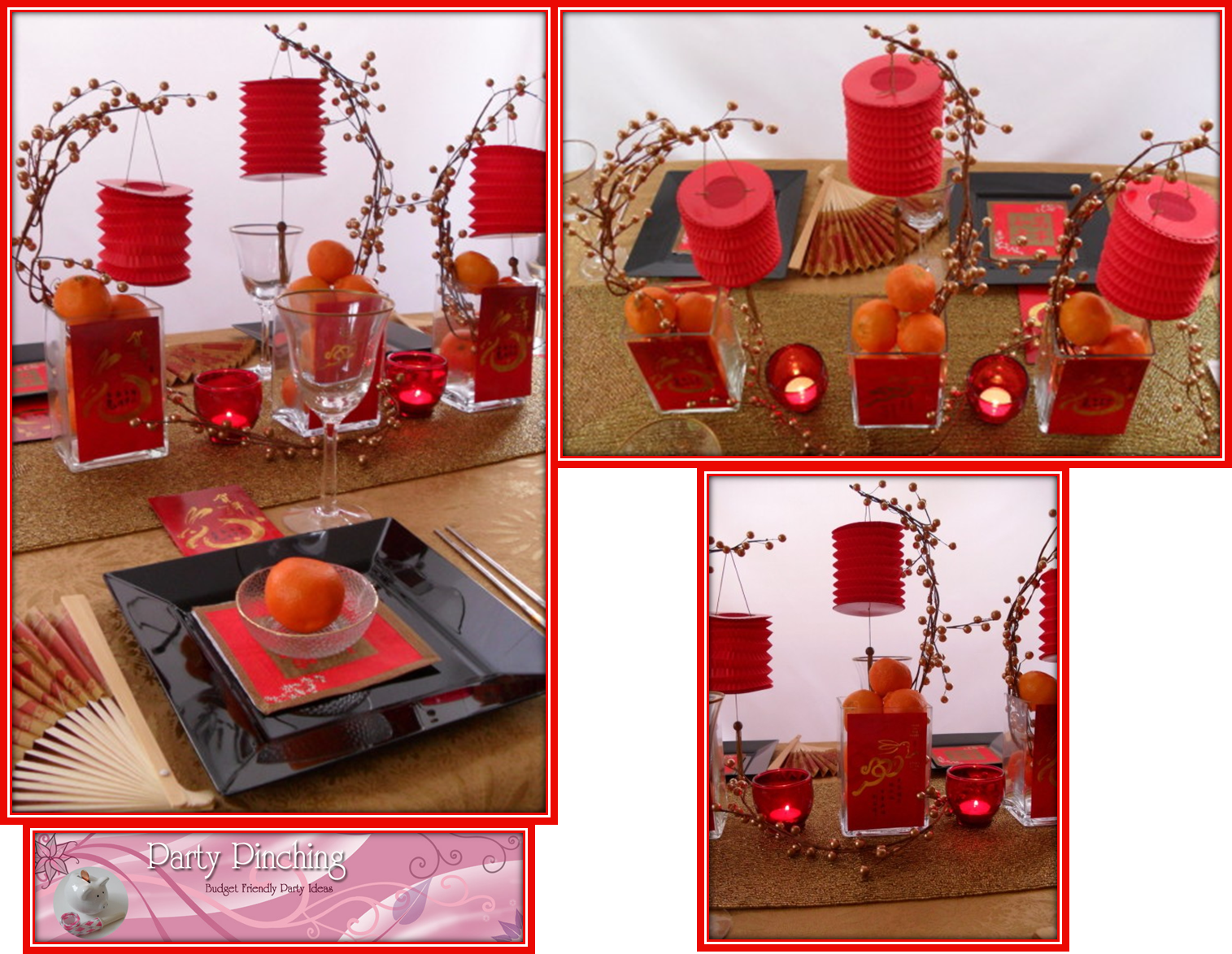 Table Rouge Chinois So Lovely Sweet Tables Decorations De Tables Pour Le