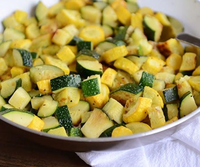 Skillet Zucchini And Yellow Squash