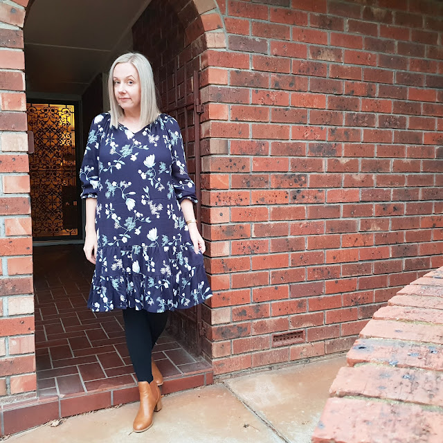 Kmart floral dress | Almost Posh