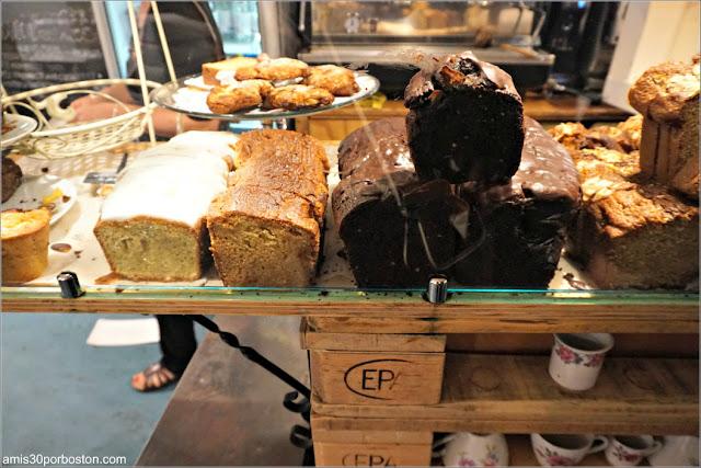 Dulces de la Cafetería De Laatste Kruimel en Amsterdam