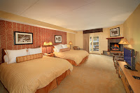 Comfortable Rooms Fireplaces Whirlpool Tubs