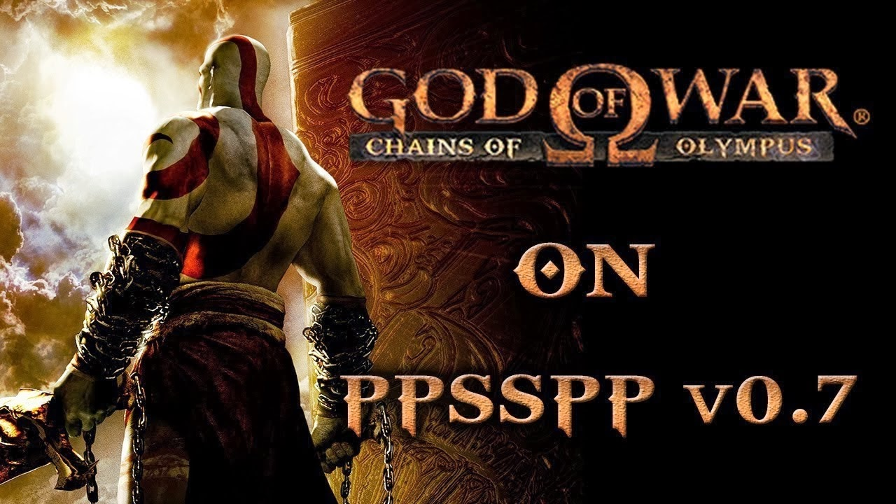 God Of War Game for Android mobile and Tablets Free Download (PSP+PPSSPP)