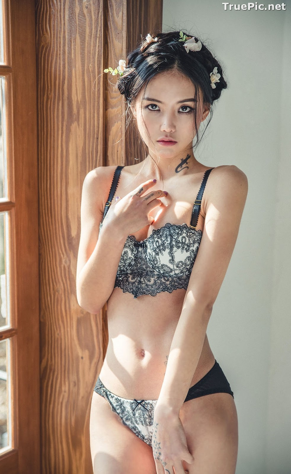 Image Korean Fashion Model – Baek Ye Jin – Sexy Lingerie Collection #7 - TruePic.net - Picture-6