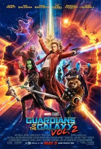 Críticas do filme GUARDIÕES DA GALAXIA Vol. 2 do site americano Rotten Tomatoes Nota 7,1/10 (81%) e público (90%)  4,3/5